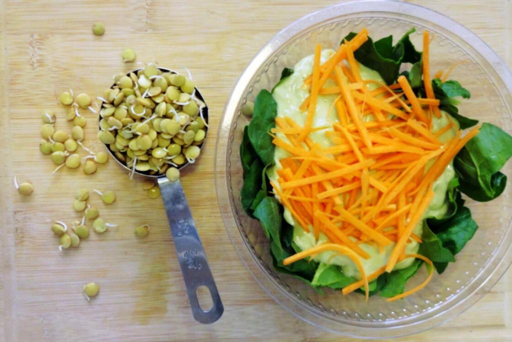 mercimek salata